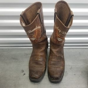 Harley Davidson Woman ladies motorcycle boots